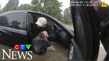Ohio motorist rescued by police officer in waist-high water 6