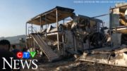 Greece's largest migrant camp destroyed by fire 3