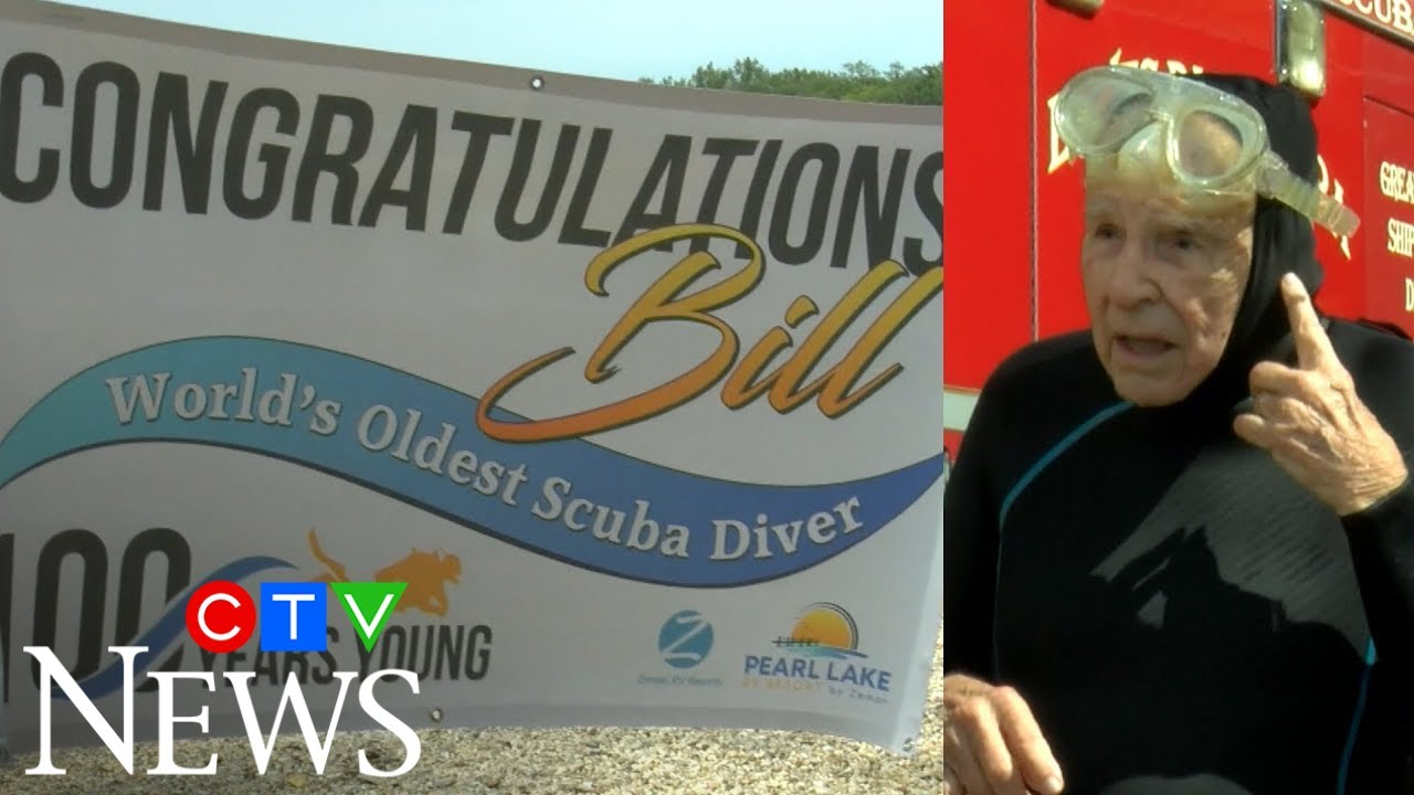U.S. man breaks world diving record on his 100th birthday 3