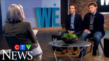 Watch Lisa LaFlamme's full interview with the Kielburger brothers 6