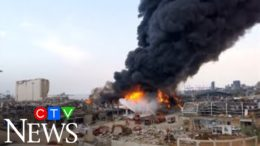 A month after a catastrophic blast, Lebanon's Port of Beirut has been rocked by a massive fire 1