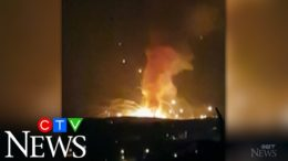 Powerful explosion rocks a military warehouse in Jordan 3