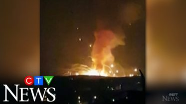 Powerful explosion rocks a military warehouse in Jordan 6