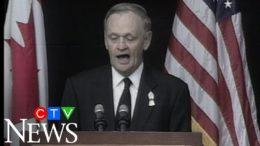 From the archive: Prime Minister Chretien pays tribute to 9/11 victims while in Gander, N.L. 3