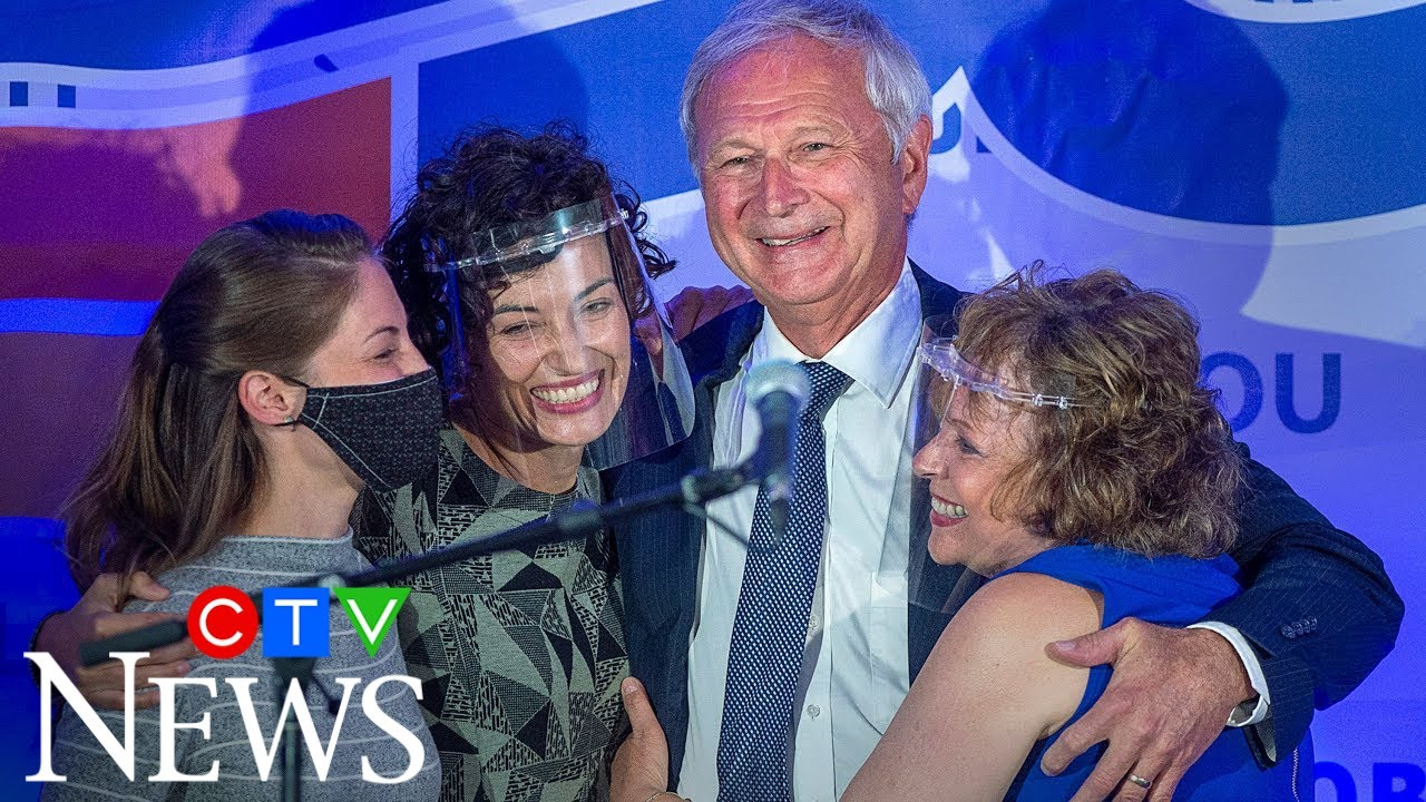 'I'm excited about tonight's results': Higgs wins majority government in New Brunswick 9