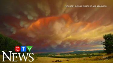 Timelapse shows wildfire smoke across Oregon sky 6