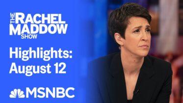 Watch Rachel Maddow Highlights: August 12 | MSNBC 6