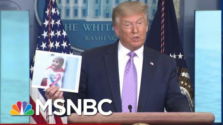 Trailing Biden After Harris Pick, Trump Admits 2020 Mail In Voting Plot   MSNBC 1