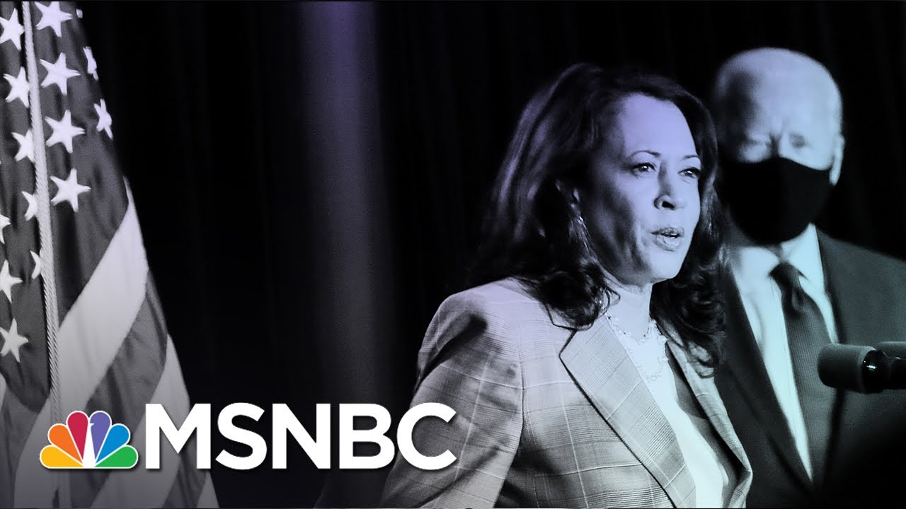 Memo to Trump: 'Up Against Kamala Harris, You Are Right To Be Afraid'   MSNBC 8