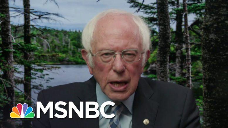 Bernie Sanders: 'Trump Is The Most Dangerous President In American History' | MSNBC 1