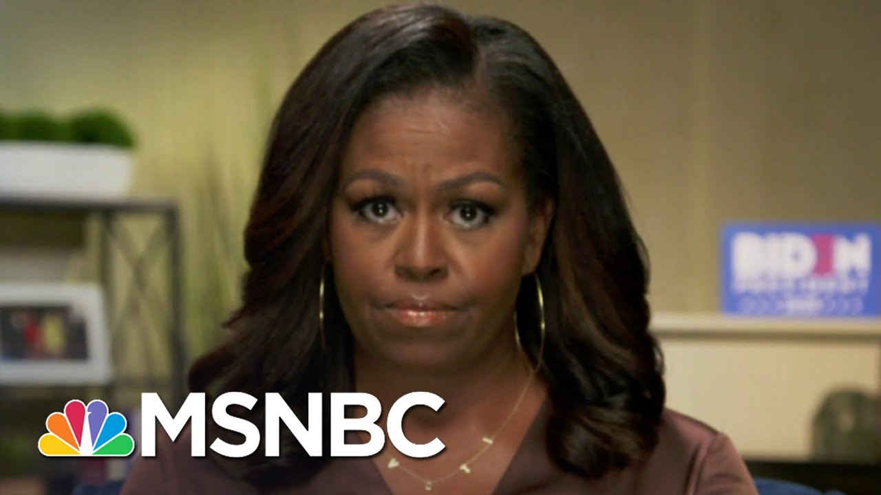Michelle Obama Issues Blistering Takedown Of Trump In DNC Speech | The 11th Hour | MSNBC 1