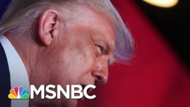 Trump Ups Attacks On Biden & Harris As Senate Grills Post Office Boss | The 11th Hour | MSNBC 10