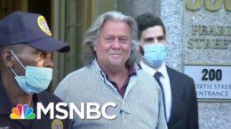 Bannon Legal Woes Leave Trump Scrambling For Distance (Again) | Rachel Maddow | MSNBC 7