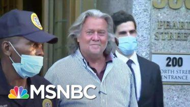 Bannon Legal Woes Leave Trump Scrambling For Distance (Again) | Rachel Maddow | MSNBC 6