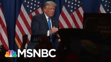 Fact Checking President Trump: 'Zero Evidence That Election Is Being Rigged' | MTP Daily | MSNBC 6