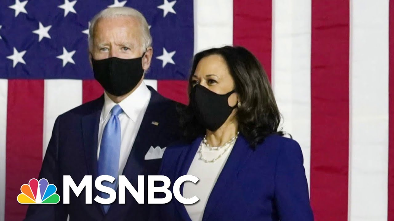 With The Convention Now Behind Them, Biden & Harris Look To Maintain The Momentum   Deadline   MSNBC 1