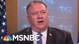 Mike Pompeo Outrages Diplomats, Imperils U.S. Foreign Policy With RNC Speech | MSNBC 3