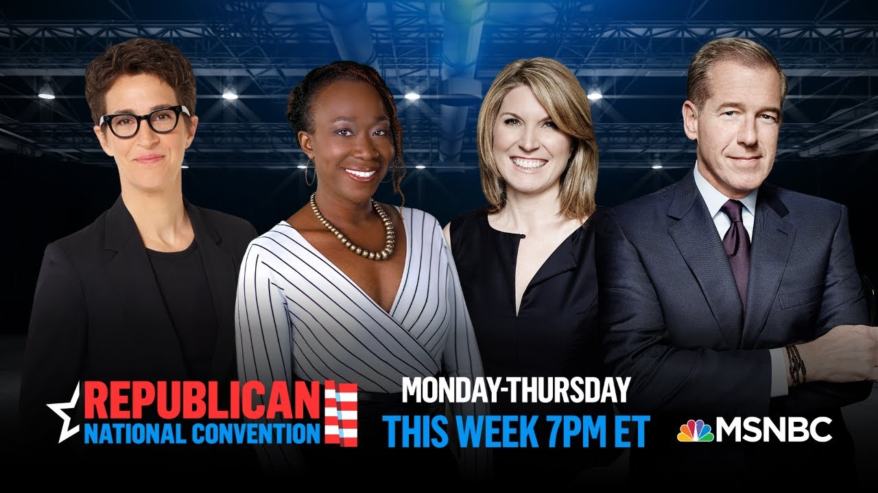 Watch Live With Analysis: Republican National Convention Day 2   MSNBC 1