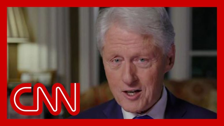 Watch: Bill Clinton says Trump wants to pass the buck on Covid-19 1