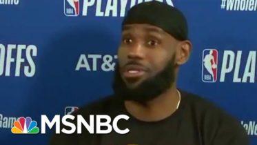 LeBron James, Doc Rivers Lead NBA Boycott Over Jacob Blake's Shooting   MSNBC 5