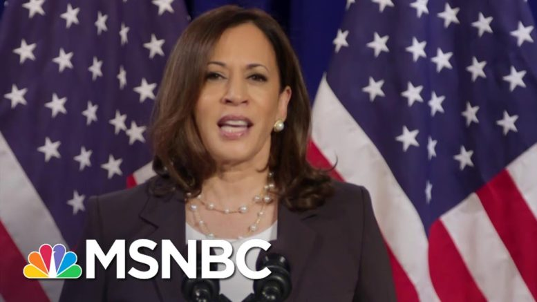 Wallace: Kamala Harris 'Indicted Donald Trump With Donald Trump's Own Words' | Deadline | MSNBC 1