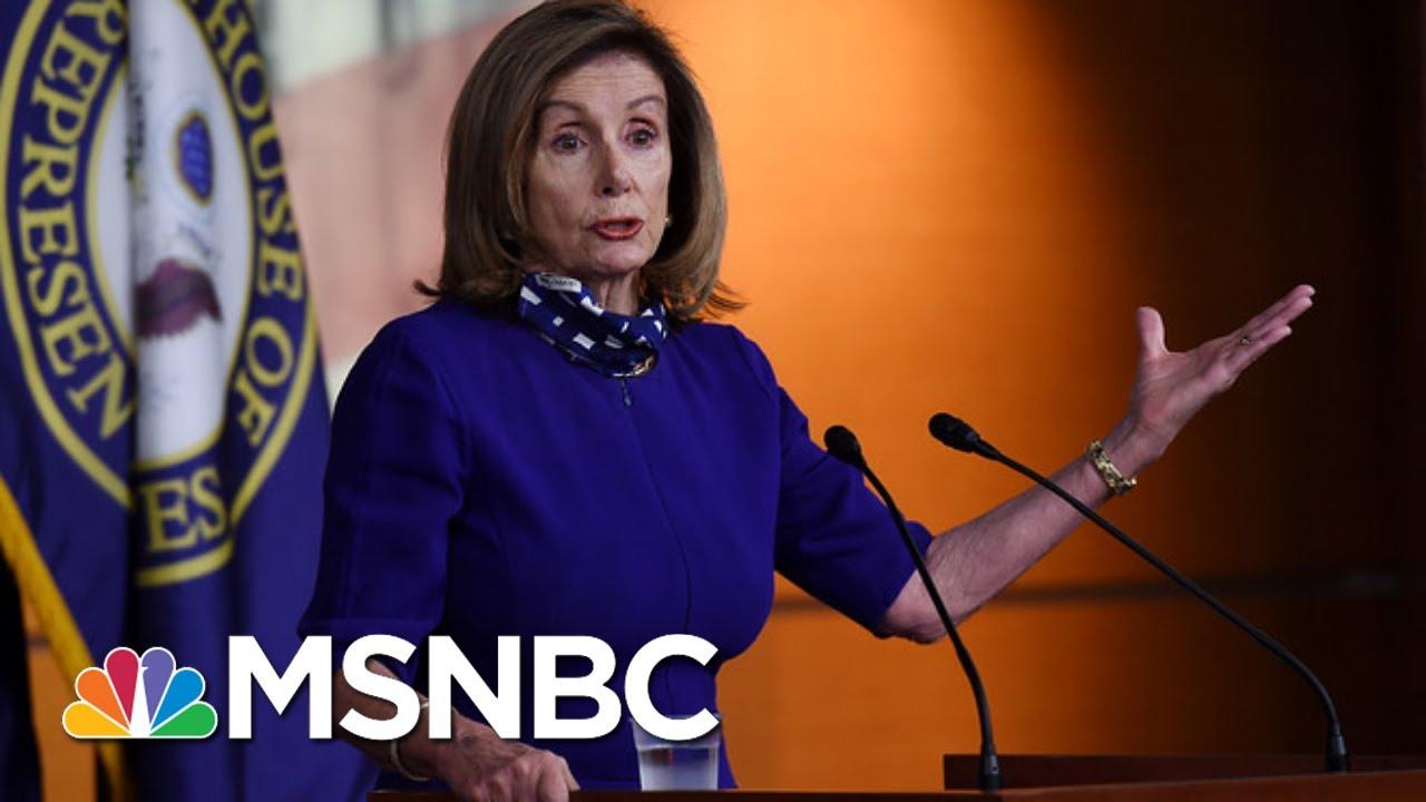 Trump Boycott: Pelosi Says Trump Not Worthy Of Debating Biden   The Beat With Ari Melber   MSNBC 9