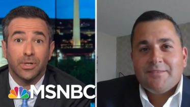 See Trump 2020 Backer Fold On Trump Recession | The Beat With Ari Melber | MSNBC 6