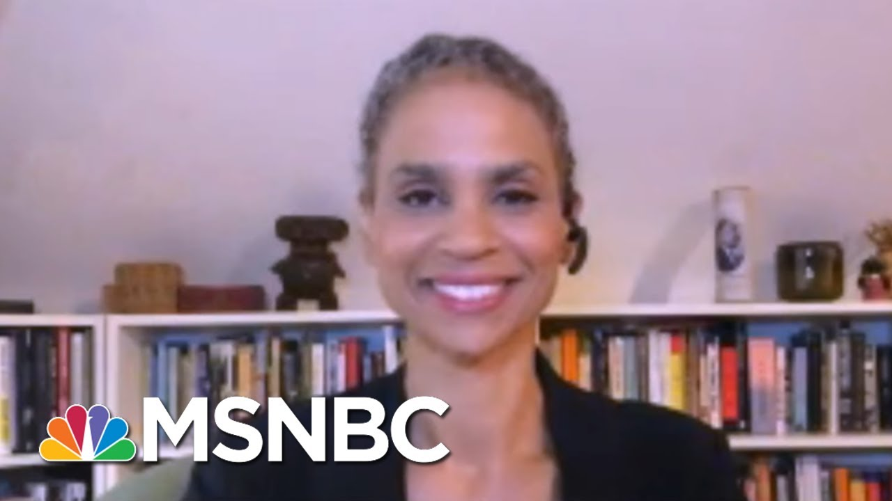 Maya Wiley Corrects Giuliani's Depiction Of 'Lawless' NYC In RNC Speech   MSNBC 1
