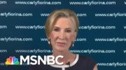 Carly Fiorina: Voters Are Watching Joe Biden And Donald Trump 'Very Closely' | Craig Melvin | MSNBC 5