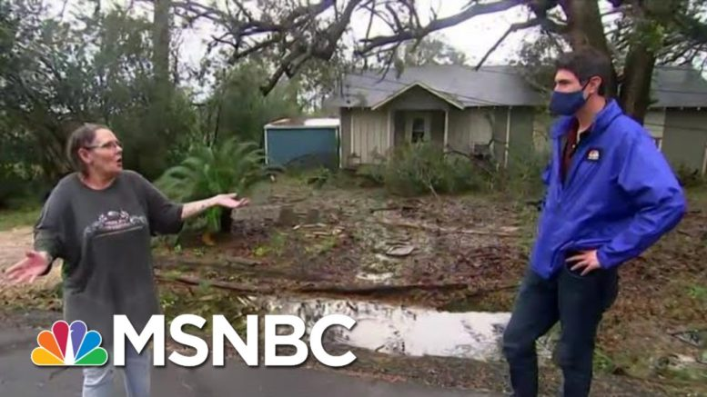 Lake Charles Resident After Hurricane Laura Tore Through Louisiana | MTP Daily | MSNBC 1