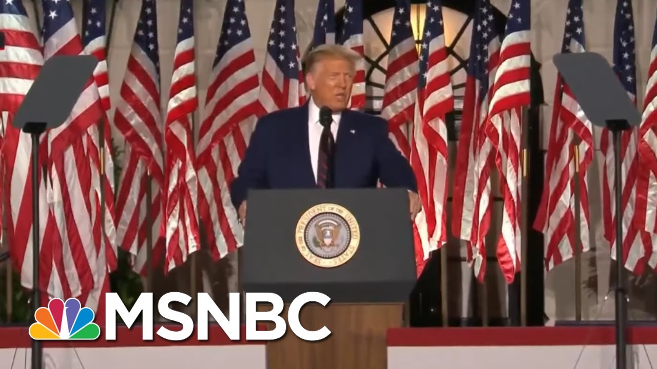 'Dangerous': Right-Wing Defends Teenage Trump Fan Who Killed 2 Protesters | All In | MSNBC 1