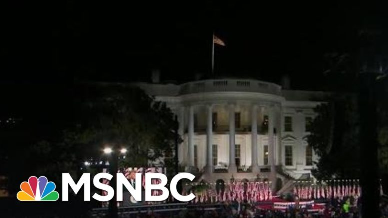 Up To The Voters To Stop Trump Co-Opting National Symbols For Personal Politics | MSNBC 1