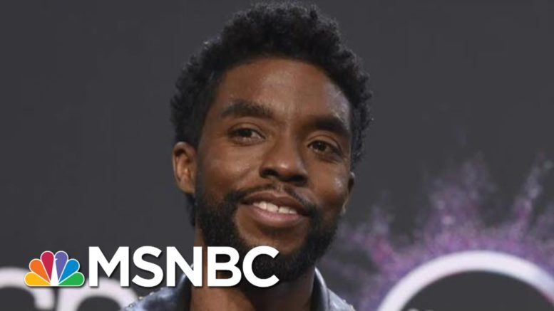 Chadwick Boseman, Star Of 'Black Panther', Dies From Colon Cancer   The 11th Hour   MSNBC 1