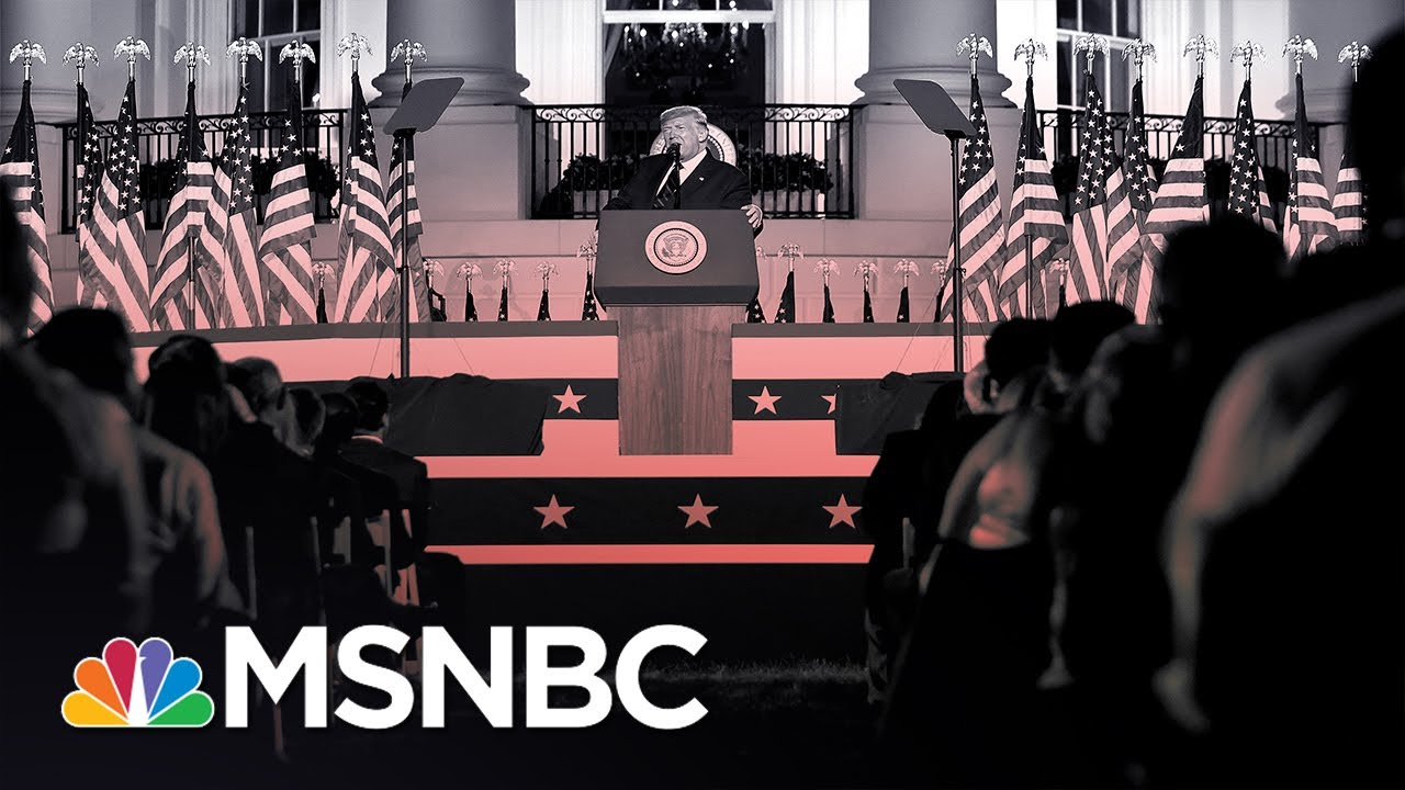 Memo to Trump: 'You Have Ripped Up Any Semblance Of Democracy By The Roots' | MSNBC 1