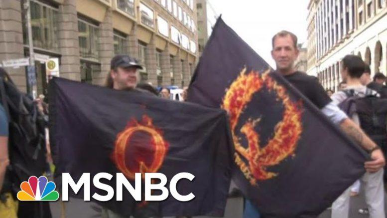 QAnon Conspiracy Theory Lands On European Shores | Morning Joe | MSNBC 1
