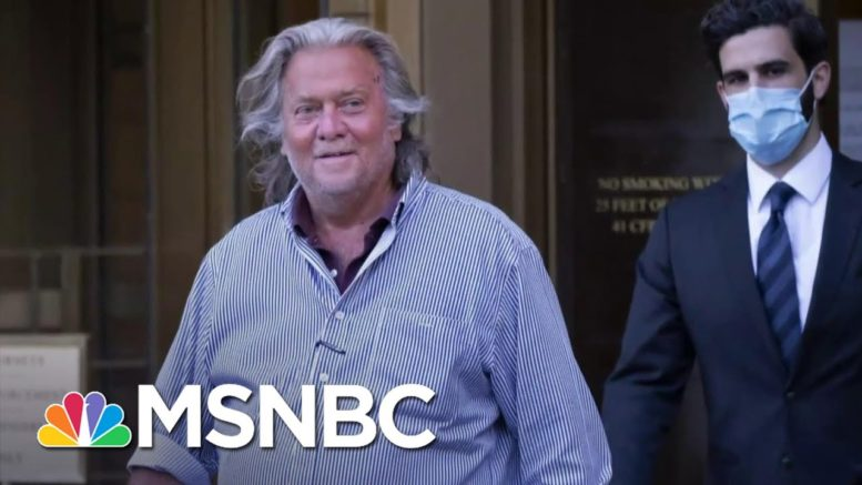 Trial Date Set In Bannon We Build The Wall Fraud Case | MSNBC 1