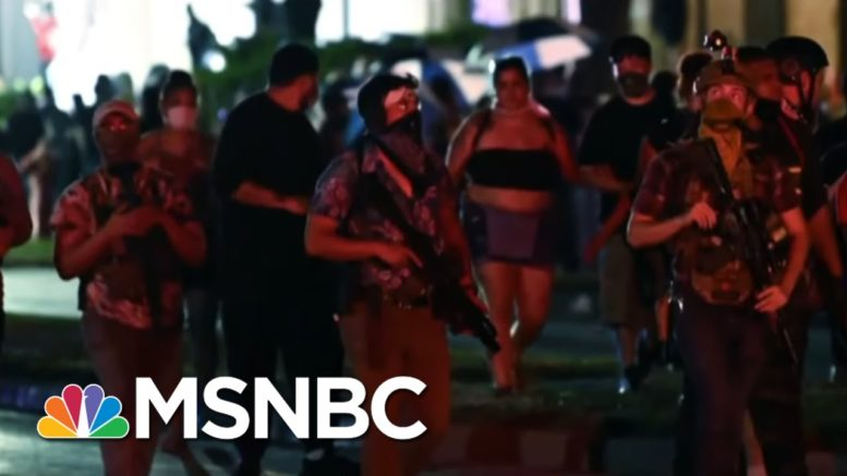 Murphy Reacts To Trump's Defense Of Teen Charged With Killing 2 Protesters In Kenosha | MSNBC 1