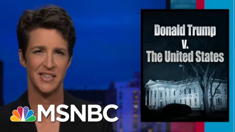 How The Counterintelligence Investigation Of Trump's Ties To Russia Disappeared | MSNBC 1