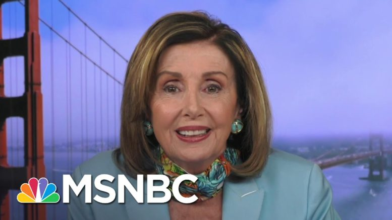 Pelosi: The American People Need To Elect The New President, 'Not Vladimir Putin' | Deadline | MSNBC 1