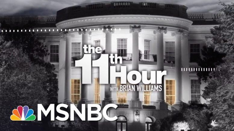 Watch The 11th Hour With Brian Williams Highlights: August 31 | MSNBC 1
