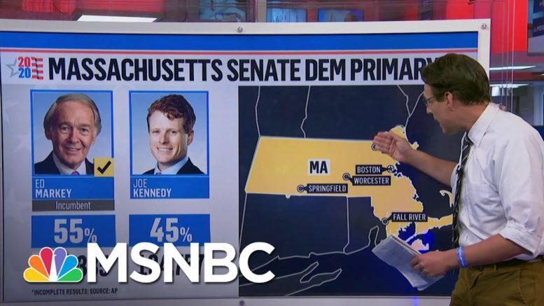 Steve Kornacki On How Ed Markey Protected Seat From Rep. Joe Kennedy III | The Last Word | MSNBC 1