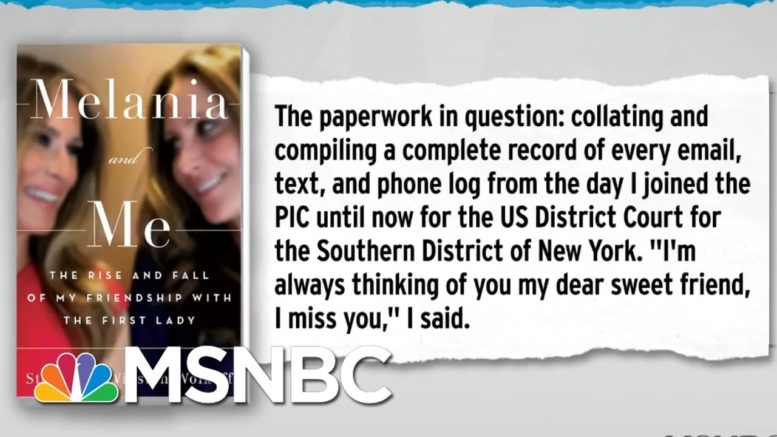 Fmr. Melania Trump Advisor Sharing Inauguration Receipts With Three Investigations | MSNBC 1