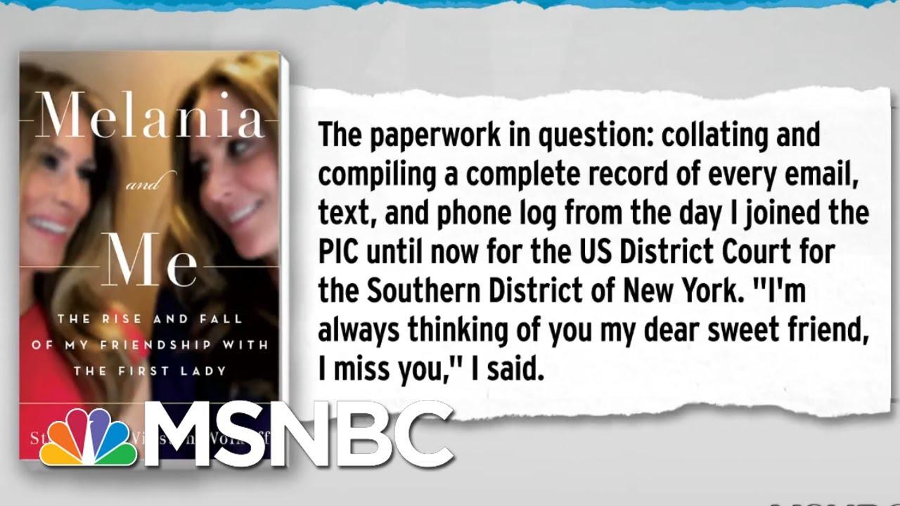 Fmr. Melania Trump Advisor Sharing Inauguration Receipts With Three Investigations | MSNBC 5
