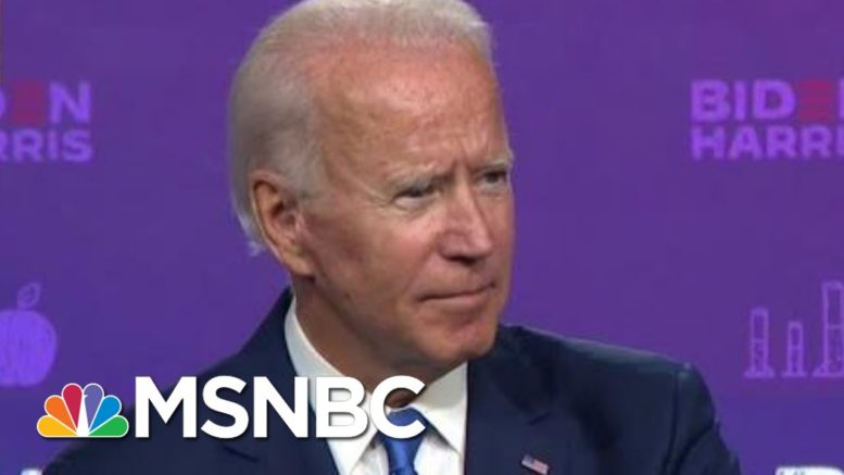 Biden On Debates: 'I'd Love To Have ... A Fact Checker' On-Screen | MTP Daily | MSNBC 1