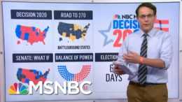 New Polls Show Race Virtually Unchanged After Conventions | MSNBC 9