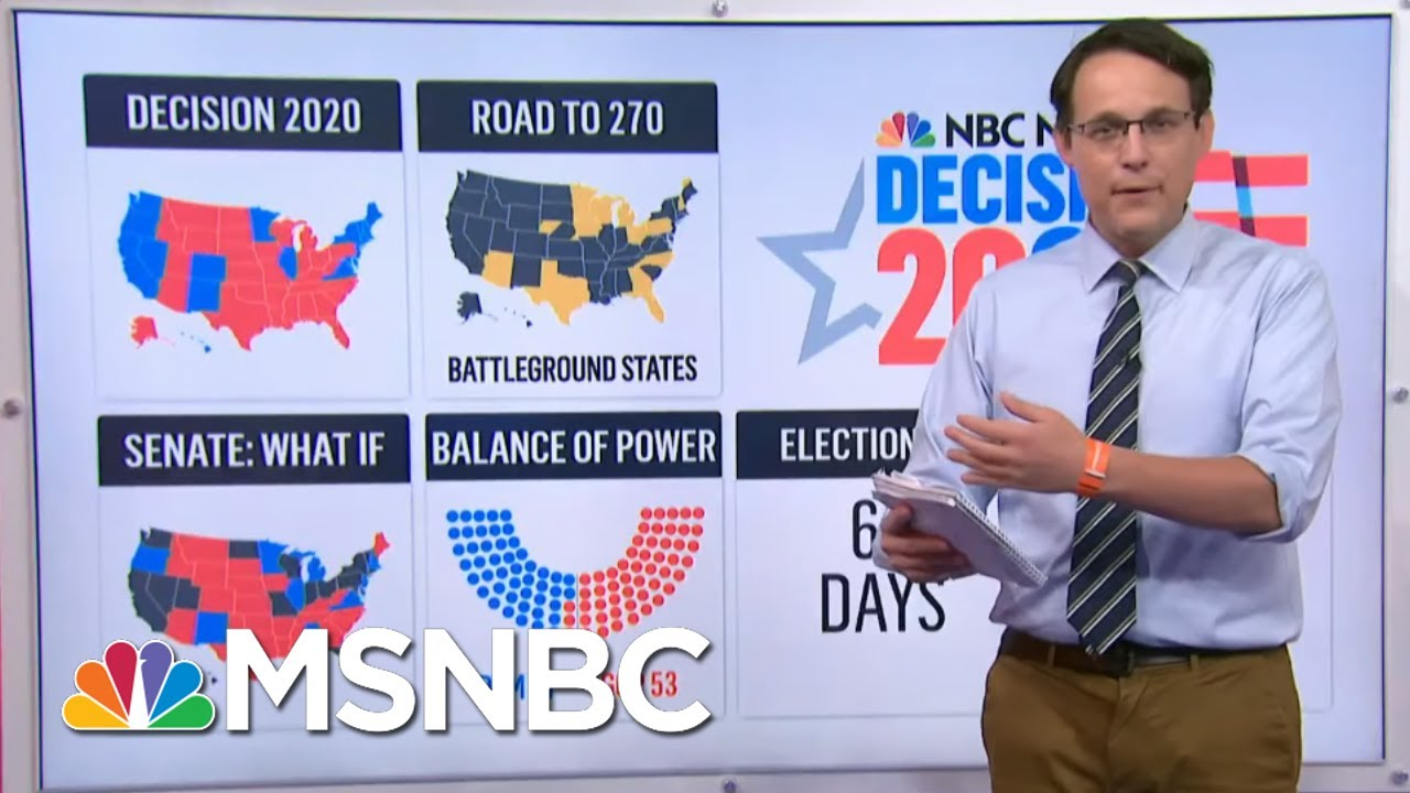 New Polls Show Race Virtually Unchanged After Conventions   MSNBC 1