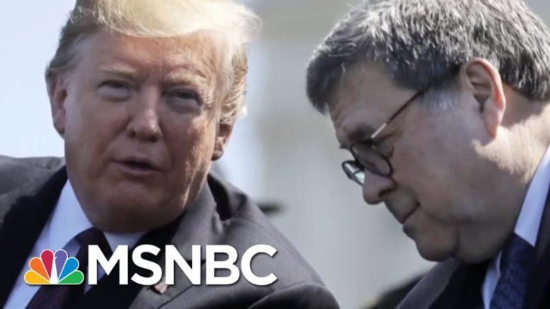 Fmr. Nixon Counsel John Dean Talks 'Pure Authoritarianism' Of Trump, Barr | All In | MSNBC 1