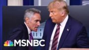 Trump Appears To Surrender To Coronavirus Spread, Embraces Deadlier 'Herd' Strategy | MSNBC 2