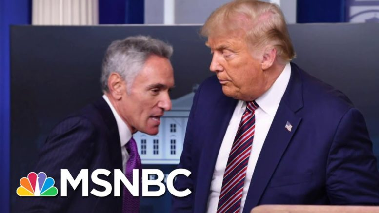 Trump Appears To Surrender To Coronavirus Spread, Embraces Deadlier 'Herd' Strategy | MSNBC 1