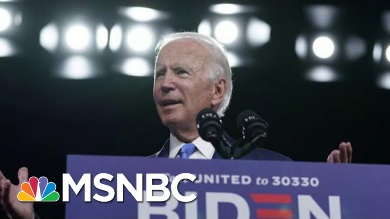 Biden Holds 10-Point Lead Nationally In New Polling | Morning Joe | MSNBC 1